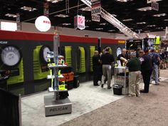 Our team working hard at FDIC 2012.