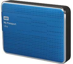 WD My Passport Ultra 2TB USB 3.0 Blue Portable Hard Drive WDBMWV0020BBL-NESN WD My Passport Ultra 2TB USB 3.0 Blue Portable Hard