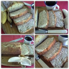 Banana and nut bread Banana Bread, Sweet, Desserts, Food, Candy, Tailgate Desserts, Dessert, Postres, Deserts