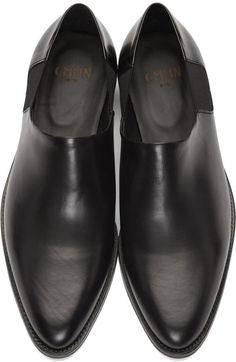 CMMN SWDN - Black Butch Slip-On Boots