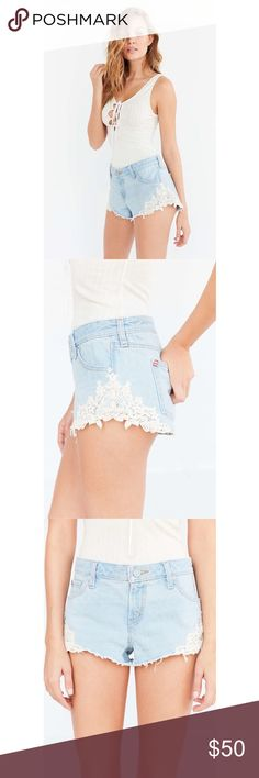 BDG lace jean short NWT Urban Outfitters Shorts Jean Shorts