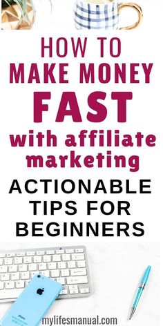 How to make money with affiliate marketing. The quickest way to earn money as a … – marketing Online Earning, Earn Money Online, Make Money Blogging, How To Make Money, How To Start A Blog, Earning Money, Money Saving Tips, Make Money From Home, Money Tips