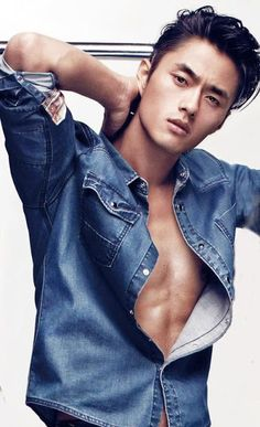 Korean Male Models, Asian Male Model, Male Models Poses, Boy Models, Asian Models, Male Poses, Top Male Models, Sexy Asian Men, Asian Guys