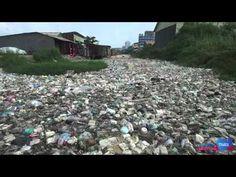 Vidéo - Phnom Penh : un drone survole les canaux ultra-pollués de la capitale ~ Cambodge Mag