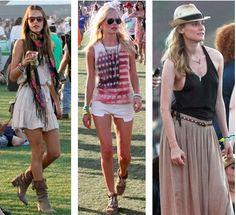 Celebrity Street Style of the Week: Coachella 2011 Edition