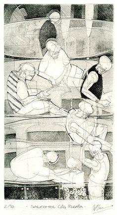 Steve Kenna - Press Gang Printmakers