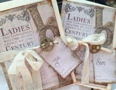 """Steampunk Wedding InvitationThis wonderful handmade unique """"Wedding Invitation - is made in the Steampunk theme and matches our guest book.We have tried to reflect in this wonderful unique Steamp..:"""
