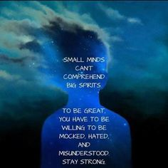 perSPecTIVE on small minds and big spirits.