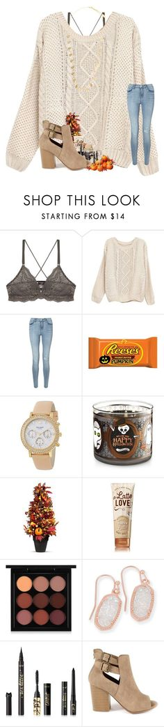 """Finally recovered from whip lash"" by ajgswim ❤ liked on Polyvore featuring Cosabella, Miss Selfridge, Kate Spade, Improvements, MAC Cosmetics, Kendra Scott, tarte, GRETCHEN and Feather & Stone"