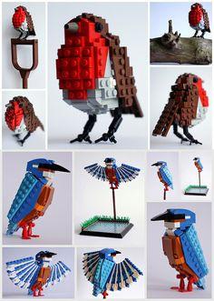 Lego bird set concept by Thomas Poulsom