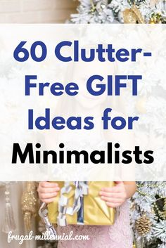 Gifts don't have to add to clutter! via @frugal_jen
