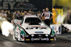 John Force lights up Friday night qualifying in Thunder Valley. #NHRA #FeeltheThunder