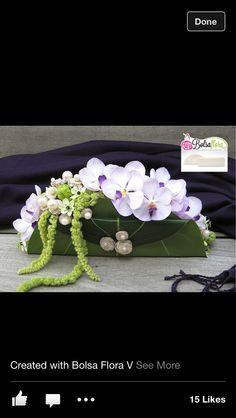 Floral Design by ? Small Flower Arrangements, Orchid Arrangements, Flower Centerpieces, Flower Decorations, Deco Floral, Arte Floral, Floral Design, Wedding Flower Design, Floral Wedding