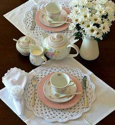 Sirva seu chá com muito amor!