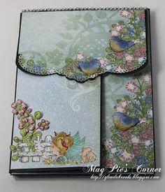 MagPie's Corner : Another Heartfelt Creations Wednesday... Fancy Fold Cards, Folded Cards, Heartfelt Creations Cards, Mini Album Tutorial, Mini Scrapbook Albums, Handmade Books, Handmade Cards, Book Making, Mini Books