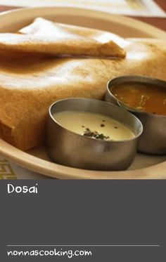 Dosai | Dosai is to a Southern Indian what roti or chapati is to a Northern Indian. It's a pancake made out of rice and lentil batter, naturally fermented overnight. With this recipe it will take some practise to pour, spread and cook the dosai well. I am still learning, it's a matter of practice and time.