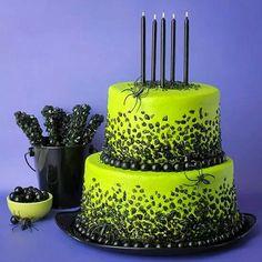 Super funky Halloween cake!