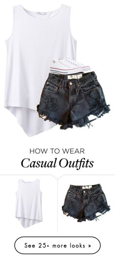 """Untitled #2729"" by laurenatria11 on Polyvore featuring prAna, Levi's and Converse"