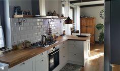 Płytki kuchenne - zdjęcie od Projekt Kawka - Kuchnia - Styl Rustykalny - Projekt…