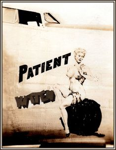 Patient Kitten (Sarge-Jack) Tags: wwii noseart kitten twine - My Ideas & Suggestions Airplane Art, Pin Up Photography, Anatomy Drawing, Lost Art, Pin Up Art, Military Art, Woman Painting, Historical Photos, Art Girl