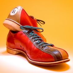 I just want some bowling shoes to wear when I am in the mood!  As crazy as it sounds, they have a certain appeal.