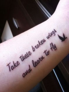 Beatles quote tattoo <3