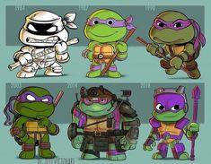 The Art of Jeff Victor — Evolution of Donatello Ninja Turtles Art, Teenage Mutant Ninja Turtles, Cartoon Sketches, Cartoon Crossovers, Cultura Pop, Cute Chibi, Fan Art, Meme, Evolution