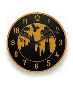 """*** LIMITED EDITION - NOT SOLD IN STORES *** Medium Round Clock 8.125"""" x .045"""" Wall Clock Unframed Gloss Aluminum Face, includes clockworks with 2 hands. Dimensions: 8.125"""" x .045"""" Weight: 0.20 lb Cli"""