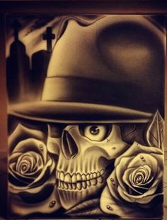 Chicano Art, Grim Reaper, Old School, Mugs, Tattoos, Skulls, Art, Tatuajes, Tumblers