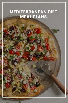Mediterranean recipes with focuses on the fresh flavors you love—season vegetables, whole grains, seafood and more. Soup Recipes, Vegetarian Recipes, Chicken Recipes, Cooking Recipes, Healthy Recipes, Salad Recipes, Recipies, Mediterranean Diet Meal Plan, Mediterranean Recipes