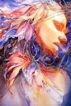 Helen+Nelson-Reed+-+American+Visionary+Watercolor+painter+(5)
