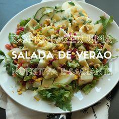 salada de verão nutritiva e saciante