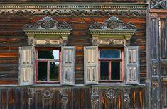 Потрясающей красоты древнерусский дом в покинутой деревне