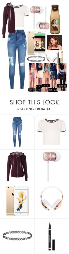 """""""HAPPY BIRTHDAY ZAFIA!!"""" by xxjerriexx ❤ liked on Polyvore featuring Lipsy, Topshop, Beats by Dr. Dre, Frends, Yves Saint Laurent and Napoleon Perdis"""