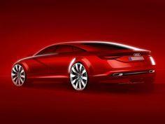 Audi TT Sportback Concept Design Sketch