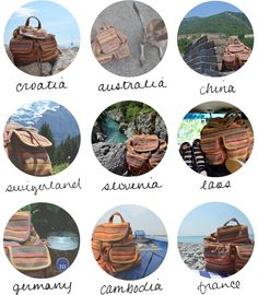 creative ways to remember travels. These are great and I have already planned on doing a couple!