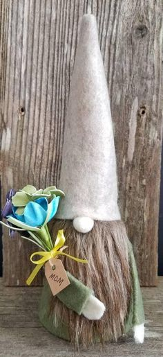 Check out this item in my Etsy shop https://www.etsy.com/listing/591567144/mothers-day-gnome-scandinavian-swedish