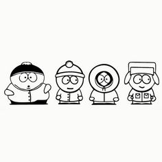 $1.59 - Funny Jdm South Park Car Window Bedroom Decor Child Laptop Wall Sticker #ebay #Home & Garden