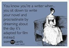 You know you're a writer when... - Writers Write Creative Blog | Glad I'm not the only one...
