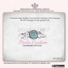 Custom Yarn logo Premade Logo Design  sketch logo by helloaimi