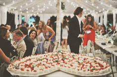 Greece Destination wedding with white color palette in the Greek countryside captured by Gianluca & Mari Adovasio. Wedding Topper, Wedding Cakes, Hot Chocolate Wine, Wine Cookies, Soda Cake, Breakfast Appetizers, Greece Destinations, Wedding Appetizers, Chocolate Fountains