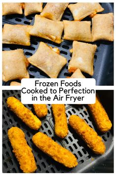 Air Fryer Recipes Discover Frozen Foods Cooked Perfectly in the Air Fryer - Cooks Well With Others Frozen Foods Cooked Perfectly in the Air Fryer has times and temperatures for all of your favorite frozen foods air fried to crispy perfection Air Fryer Recipes Appetizers, Air Fryer Recipes Low Carb, Air Fryer Dinner Recipes, Air Fryer Recipes Potatoes, Baked Potatoes, Air Fryer Cooking Times, Cooks Air Fryer, Air Frier Recipes, Air Fried Food