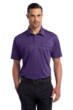 OGIO® Axle Polo in Piston Purple. OG113. #polo #mens #fashion #purple