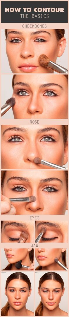 "How to Contour: The Basics, I am often guilty of just going to town with #contour, when working for #Chanel in New York I watched one expert makeup artist, talk to a client saying "" think about the light, when applying makeup""  stop and think how you can use ""light"" and ""contour"" in your makeup  #abeautyfeature"