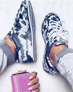Shoes: superstar camouflage adidas adidas superstars adidas sneakers blue and white printed sneakers