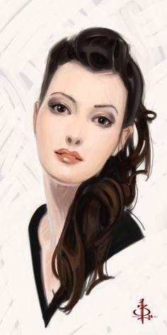 Timed Head Sketch 367 by FUNKYMONKEY1945.deviantart.com on @deviantART