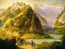 Hohenwerfen Castle -