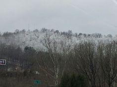 Snowy hills,  Prestonsburg, KY.