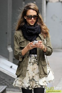 Jessica Alba Style: Photo