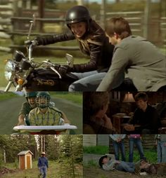 FAVOURITE HEARTLAND MOMENTS - SEASON 5  5. Tim falling off his horse trying to get Shane out of the jail 4. Jack locking Caleb in the outhouse 3. Ty asking Jack if he can marry Amy 2. Ty and Caleb riding in the bathtub 1. Ty teaching Amy to ride his motorcycle